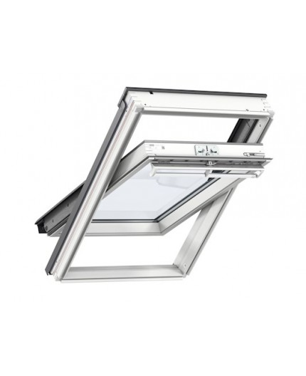 VELUX GGL 2070Q White Paint Enhanced Security Centre Pivot ...